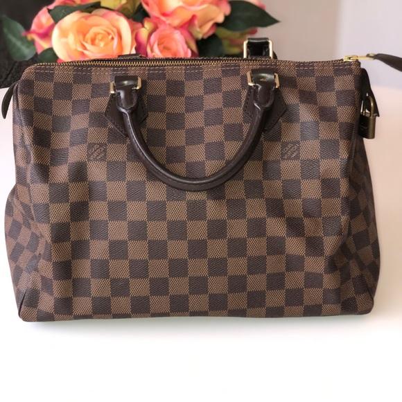2d9de5a8e4 Gucci Handbags - Louis Vuitton Speedy 30 Damier Ebene handbag!